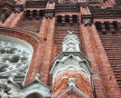 Cathedral of the Immaculate Conception. Architectural details