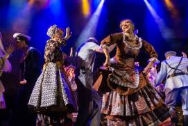 How to buy tickets to folk song and dance performances in Moscow?