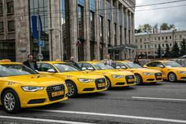 You can get a taxi in Moscow from major service. shutterstock.com