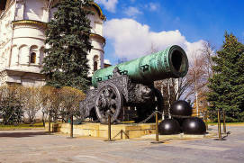 Tsar Bell and Tsar Cannon