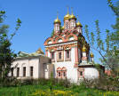 Church of St. Nicholas the Wonderworker in Khamovniki. Photo: Shutterstock.com