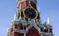 Spasskaya Tower. Architectural details