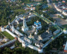 Aerial view of the Trinity Lavra of St. Sergius