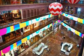 Shopping mall RIO at Leninsky avenue