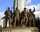 Monument to the anti-Hitler coalition