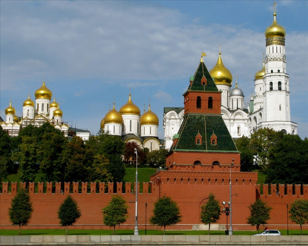 Kremlin towers: names and their height 3