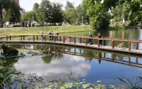 Pond in Vorontsovsky Park