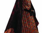 Night-robe. Russia. 1860s