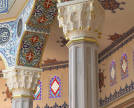 Moscow Cathedral Mosque. Interrior