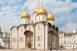 Dormition Cathedral in Moscow