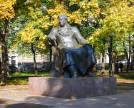 Patriarch's Ponds. Monument to Ivan Krylov