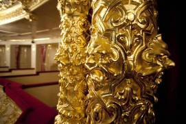 Gilding at the Bolshoi theatre