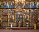 Solea, or the elevation in front of the iconostasis, is not to be entered, especially during the religious service