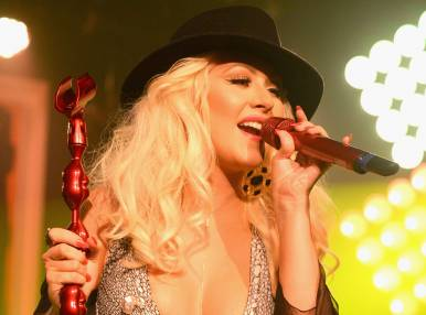 Christina Aguilera's Concert in Moscow