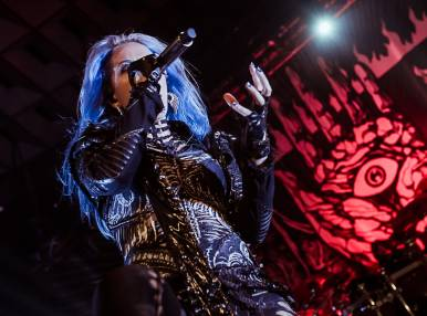 Arch Enemy's Concert in Moscow
