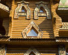 Wooden buildings in Izmaylovo. Photo: Shutterstock.com