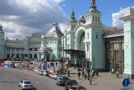 Belorussky railway station