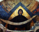 Mikhail Nesterov. Holy Shroud of the Mother of God. Fresco