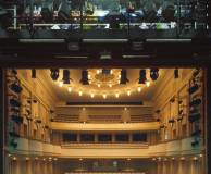 What theatres offer guided tours?