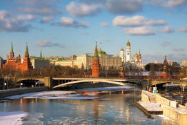Spring thaw in Moscow. Shutterstock.com.