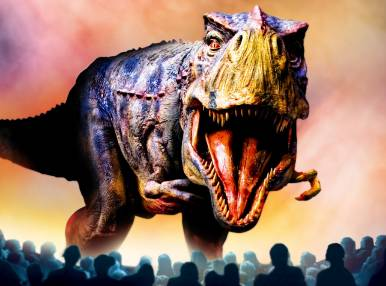 Walking with Dinosaurs, Animatronic Show