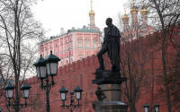 Monument to Alexander I of Russia in Alexander Garden