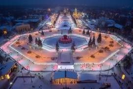Ice rink at VDNKh