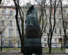 Monument to Gogol by N. Andreyev
