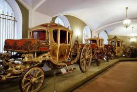 Carriages in the Armoury Chamber