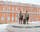 Monument to V. Bazhenov and M. Kazakov. Photo by shutterstock.com