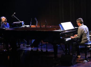 Stefano Bollani and Chano Dominguez, Concert