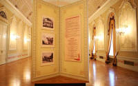 In the Museum of the Bolshoi theatre