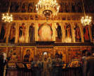 Monastery of St. Sabbas of Storozhi. Cathedral of the Nativity of the Theotokos. Iconostasis