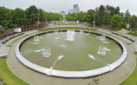 Fountain in Sokolniki Park