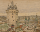 Apollinary Vasnetsov. Corner Tower of the White City in the 17th century