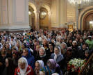 Patriarchal service in the monastery