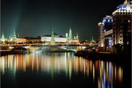 The Kremlin embankment. shutterstock.com
