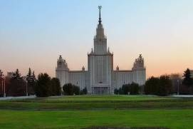 One of the Stalin's high-rises. shutterstock.com