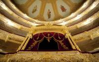 The Imperial bed of the Bolshoi theatre