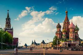 How can I get to the Red Square from the airport?