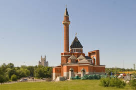 Memorial Mosque on Poklonnaya Hill