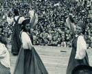 Folk dances on the Central Stage in the Soviet times