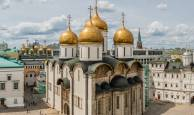 Are there any rules for visiting the Moscow Kremlin's churches?