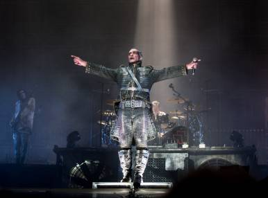 Rammstein's Concert in Moscow