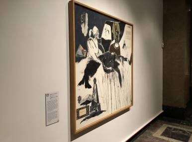 Francis Bacon, Lucian Freud, and the School of London, Exhibition