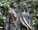 Monument to Alexander Pushkin and Natalia Goncharova