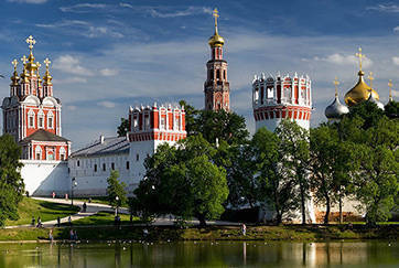 Orthodox Churches and Monasteries in Moscow