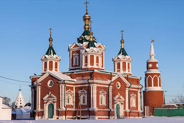 Orthodox Churches and Monasteries in Moscow Region