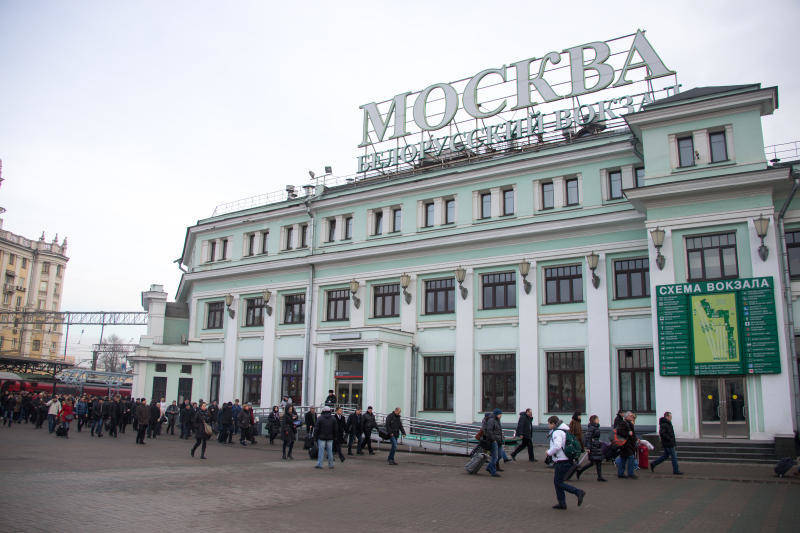 central train station moscow