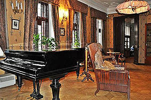 Scriabin Museum. Living room.
